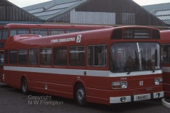 National Welsh N1978 (WUH161T) is seen shortly after delivery at Ely Works, Cardiff, in company with N2078.
